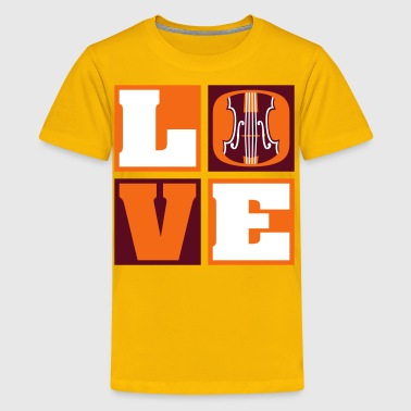 Love Orchestra! - Kids' Premium T-Shirt