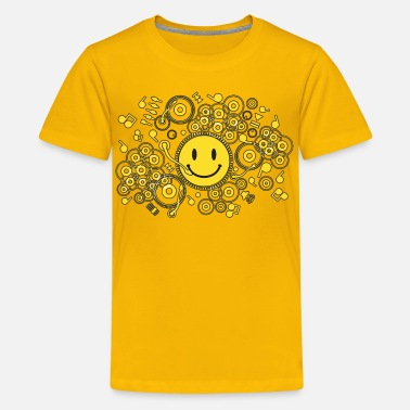 Happy_music Music Happy_Music - Kids' Premium T-Shirt