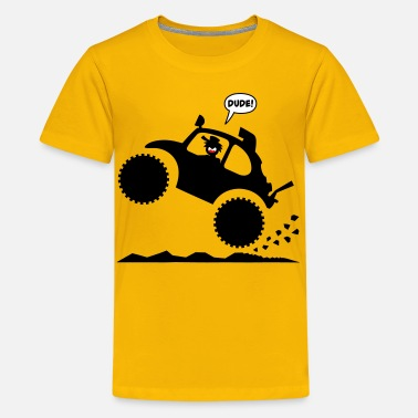 Stickman Kids Stickman Baja Wheelie Kid's-T - Kids' Premium T-Shirt