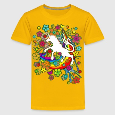 Unicorn_Gallop - Kids' Premium T-Shirt