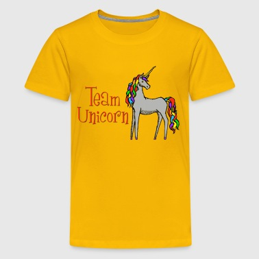 Team Unicorn - Kids' Premium T-Shirt