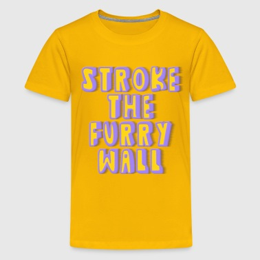 Furry Wall Stroke The Furry Wall - Kids' Premium T-Shirt