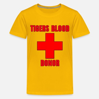 d6457e2af Tigers Blood Donor Charlie Sheen - Kids' Premium T-Shirt