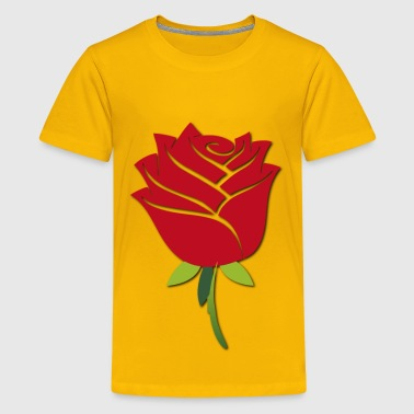 Stylized Rose - Kids' Premium T-Shirt