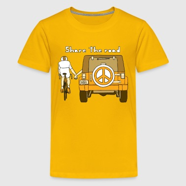 share the road - Kids' Premium T-Shirt