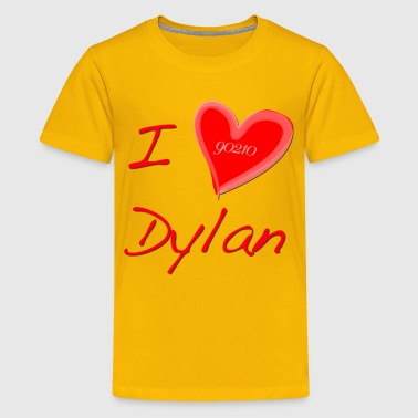 I Love Dylan  - Kids' Premium T-Shirt