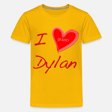 Beverly Hills I Love Dylan  - Kids' Premium T-Shirt
