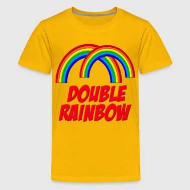 Double Rainbow - Kids' Premium T-Shirt