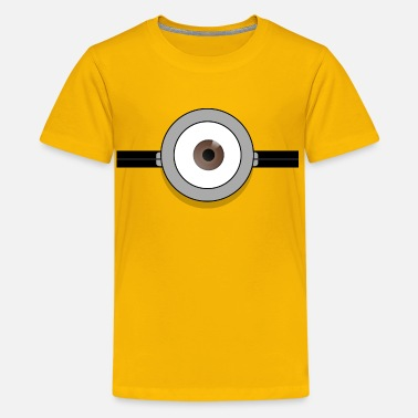 Minion Stuart glasses - Kids' Premium T-Shirt