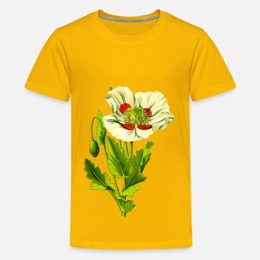 Opium Opium poppy 3 (detailed) - Kids' Premium T-Shirt