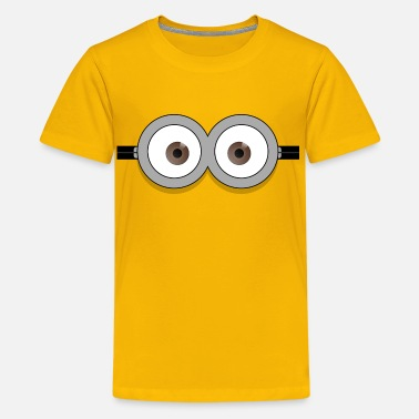 Minion Dave glasses - Kids' Premium T-Shirt