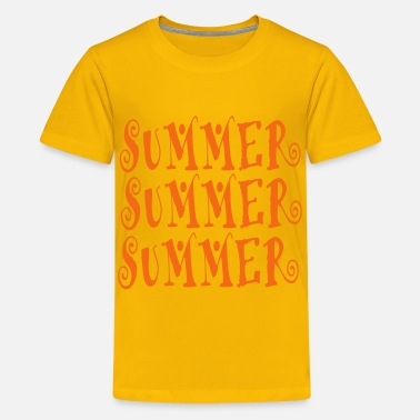 Summer summer - Kids' Premium T-Shirt