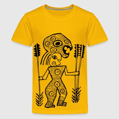 Aboriginal design 7 - Kids' Premium T-Shirt
