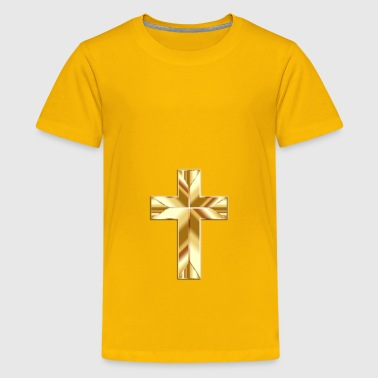 Golden Cross Fixed - Kids' Premium T-Shirt