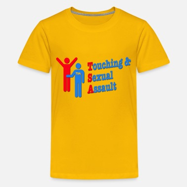 Molestation TSA = Touching & Sexual Assault Airports - Kids' Premium T-Shirt