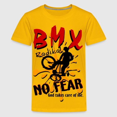 BMX Radical No Fear - Kids' Premium T-Shirt