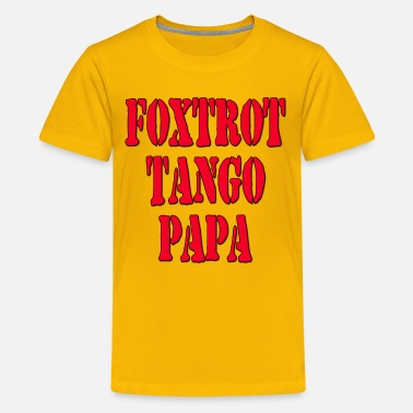 Abbreviation FTP Foxtrot Tango Papa / Fuck The Police - Kids' Premium T-Shirt