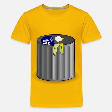 Trash Can trash can - Kids' Premium T-Shirt