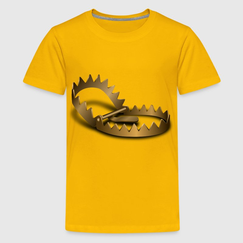 Bear Trap - Kids' Premium T-Shirt