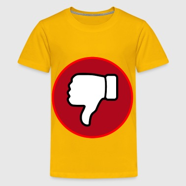 Thumbs Down Thumbs Down Circle - Kids' Premium T-Shirt