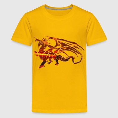 Magma Magma Dragon 2 - Kids' Premium T-Shirt