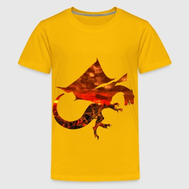 Magma Magma Dragon - Kids' Premium T-Shirt