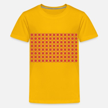 Seamless Pattern Seamless Groovy Geometry Pattern 2 - Kids' Premium T-Shirt