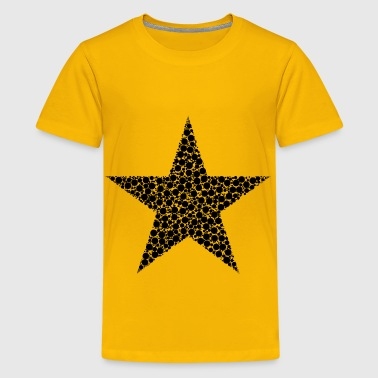 Circles Star - Kids' Premium T-Shirt