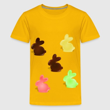 chocolate bunnys - Kids' Premium T-Shirt