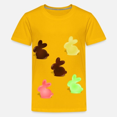 Chocolate Bunnies chocolate bunnys - Kids' Premium T-Shirt