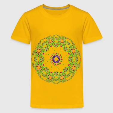 Colorful Abstract Geometric Design - Kids' Premium T-Shirt