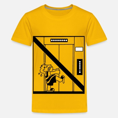 Open Doors Do Not Force Open Doors - Kids' Premium T-Shirt
