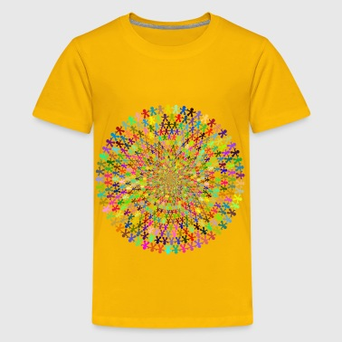 MultiCultural Cooperation Vortex - Kids' Premium T-Shirt
