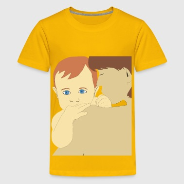 Mother And Son - Kids' Premium T-Shirt