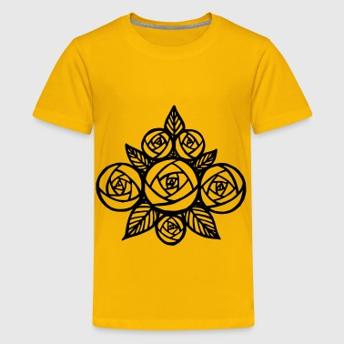 A Bunch of Roses - Kids' Premium T-Shirt