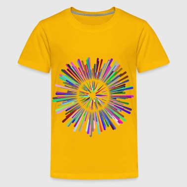 Multicultural Explosion No Background - Kids' Premium T-Shirt