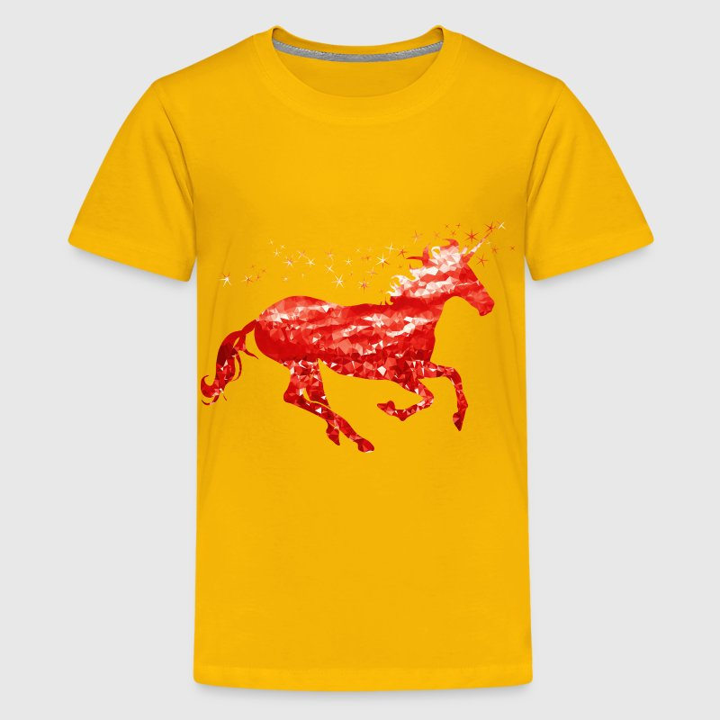 Ruby Unicorn - Kids' Premium T-Shirt
