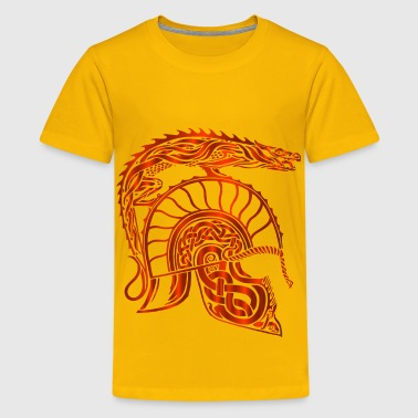 Children Of Hurin Dragon Helm Vermillion No Background - Kids' Premium T-Shirt