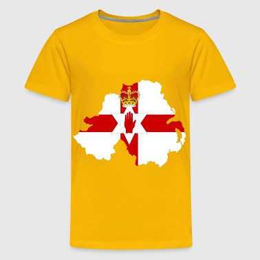 Northern Ireland Map Flag - Kids' Premium T-Shirt