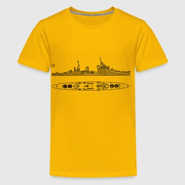 Sheffield Battleship - Kids' Premium T-Shirt