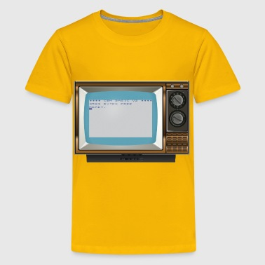 Old TV 2 (Vic 20) - Kids' Premium T-Shirt