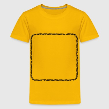 Trendy Rounded Square - Kids' Premium T-Shirt