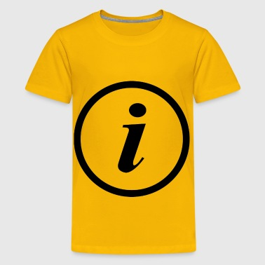 information - Kids' Premium T-Shirt