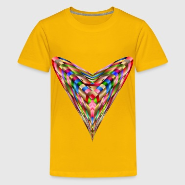 Vibrant Colors Vibrant Heart - Kids' Premium T-Shirt