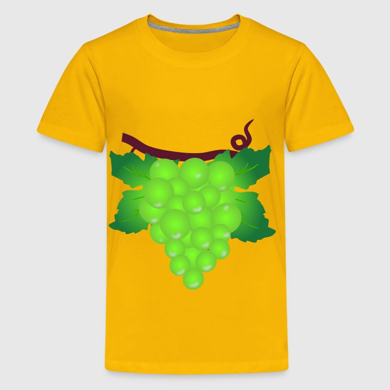 Green Grapes - Kids' Premium T-Shirt
