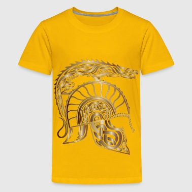 Children Of Hurin Dragon Helm Bronze No Background - Kids' Premium T-Shirt