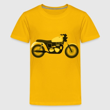 Hogs Of The Road Yellow Motorcycle - Kids' Premium T-Shirt