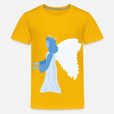 Blue Angel Angel of blue - Kids' Premium T-Shirt