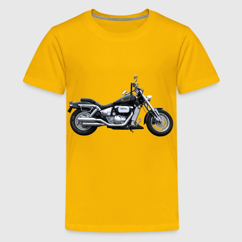Heavy Duty Motorcycle - Kids' Premium T-Shirt