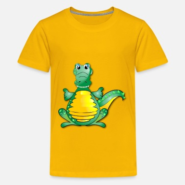 Huggable Huggable Crocodile - Kids' Premium T-Shirt